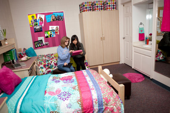 Beautiful Dorm Room Ideas For Girls