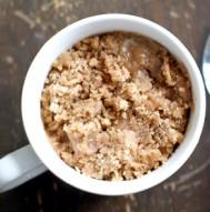 Dorm Room Dessert - Coffee Cake in a Mug